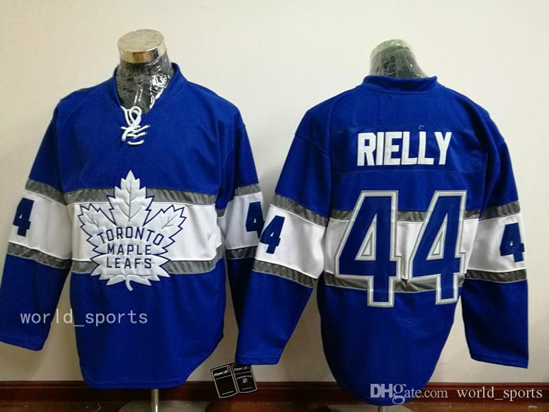 Maillots de hockey chandails à bas prix # 44 RIELLY # 16 MARNER / # 34 Maillots
