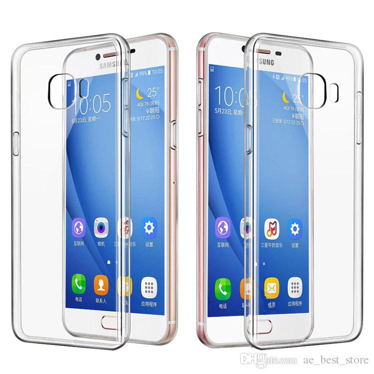 Pour Samsung Galaxy S8 Coque Ultra mince 1mm Clear Soft TPU Housse pour Samsung