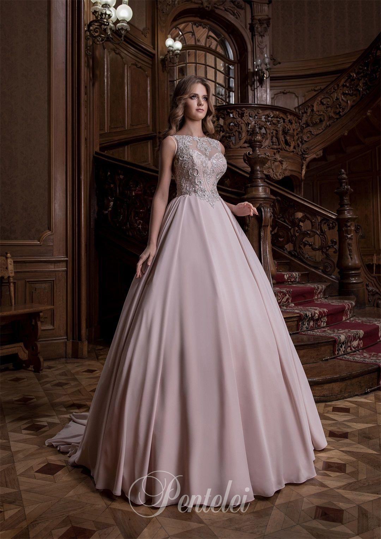 Blush wedding dresses with bling blush pink rhinestone brides blush wedding dresses with bling blush wedding dresses pentelei with major beading ombrellifo Choice Image