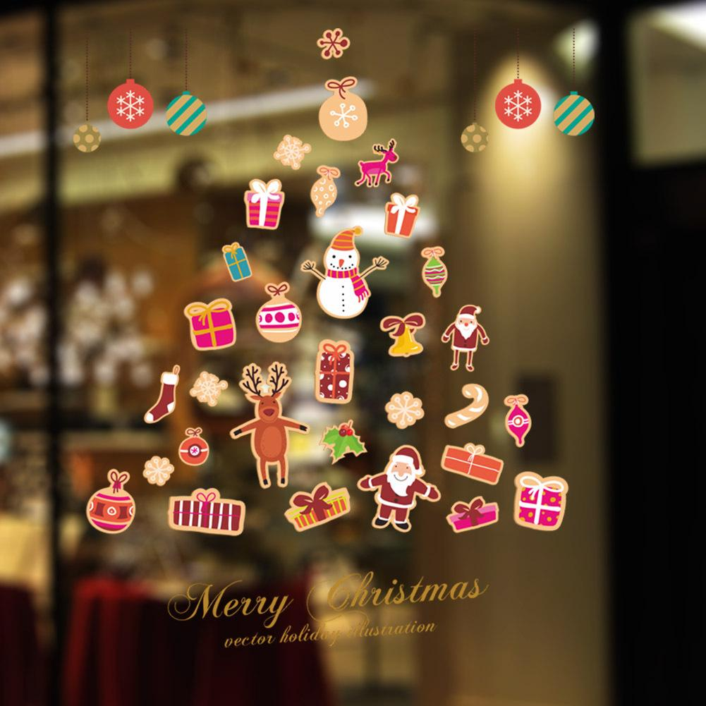 DIY Christmas Tree Wall Mural Decals Merry Christmas Festival Wall Sticker  For Home Decor For Kids DIY Christmas Wall Stickers Christmas Tree Wall  Decal ... Part 84