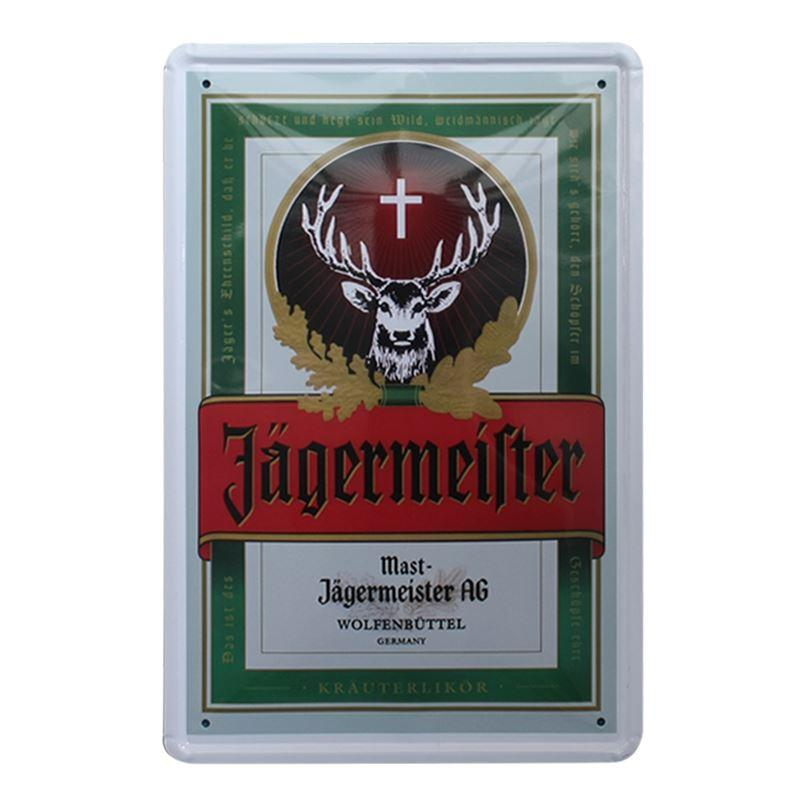 Metal Signs Home Decor military hardware patriotic pin up girl art on metal sign vintage style home decor wall art Jagermeister Vintage Home Decor Tin Signs Shabby Chic Plaque Metal Decorative Vintage Metal Sign