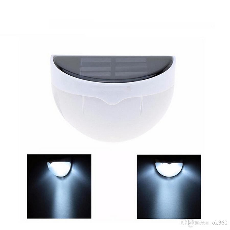 Wall Mounted Solar Lamps : 6LED Wall Mounted Solar Lamp PIR Sensor Led Light with Light&Voice Control Outdoor Water-proof ...