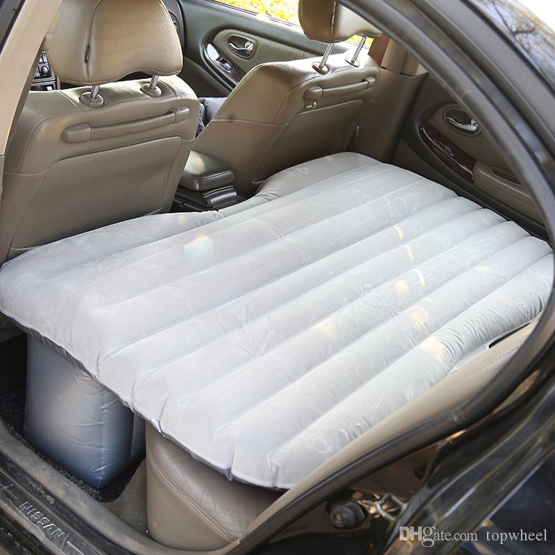 Car Inflatable Bed Car Travel Air Mattress With Electric