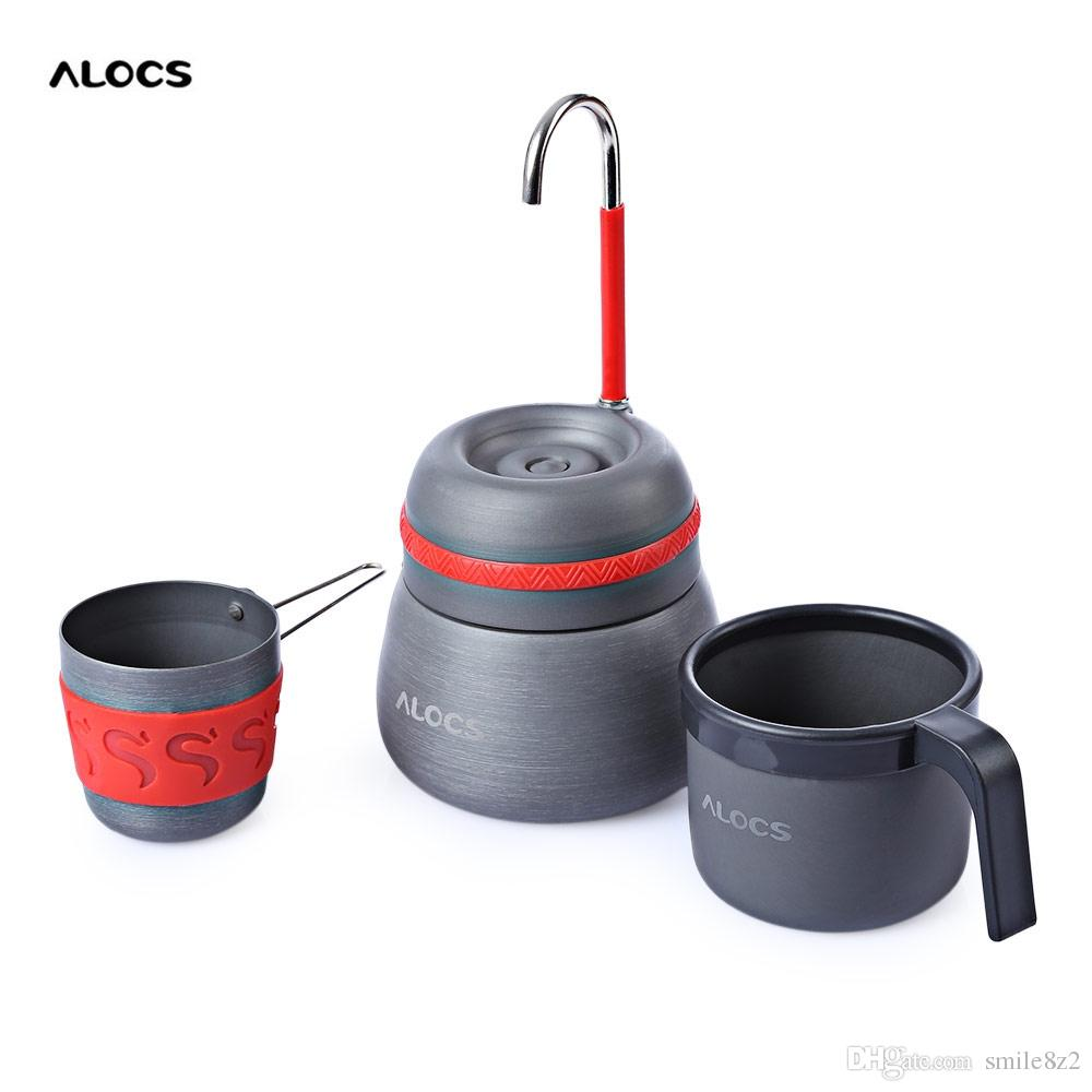 Aliexpress Com Buy 350ml Outdoor Portable Pet Dog Water: Alocs Cw Em01 Outdoor 350ml Portable Coffee Stove Aluminum