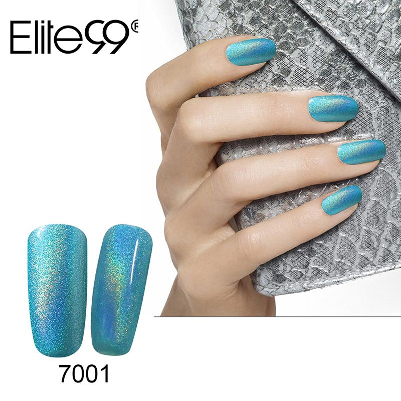 Rainbow Metallic Nail Polish: Art Nail Gel Elite99 Metallic Top Coat With Bling Neon
