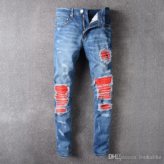 Cheap Light Destroyed Jeans For Men | Free Shipping Light ...