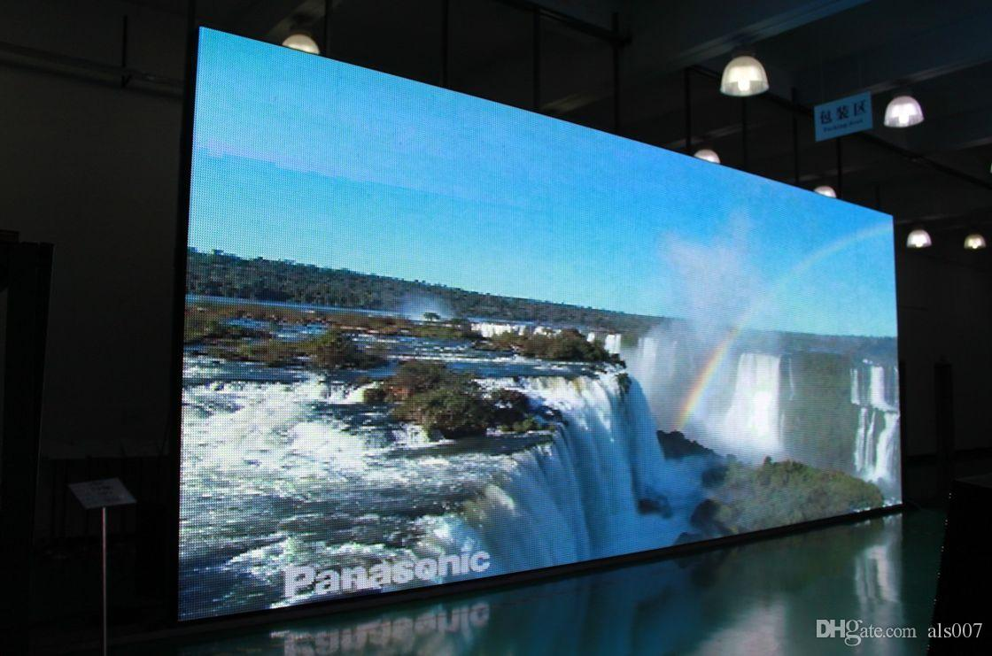 Shenzhen mountain a li group hot sale outdoor full color for Exterior led screen