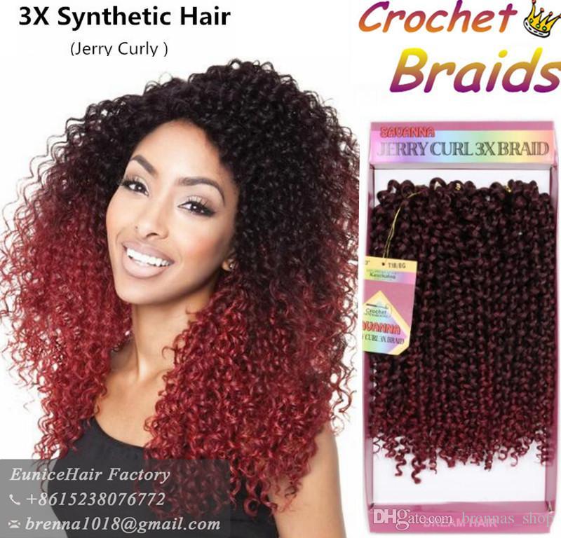 Freetress Braids Pre Looped Wand Curl Crochet Hair