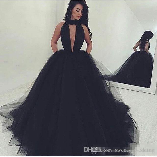 Black cheap prom dresses