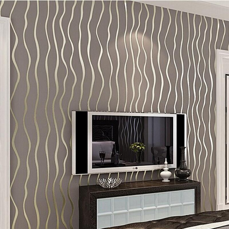 wholesale wallpaper high quality modern luxury flocking