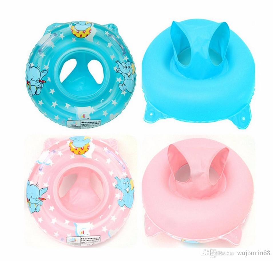 2017 New Cute Kids Baby Swimming Pool Accessories Baby Neck Float Ring Inflatable Kids Neck
