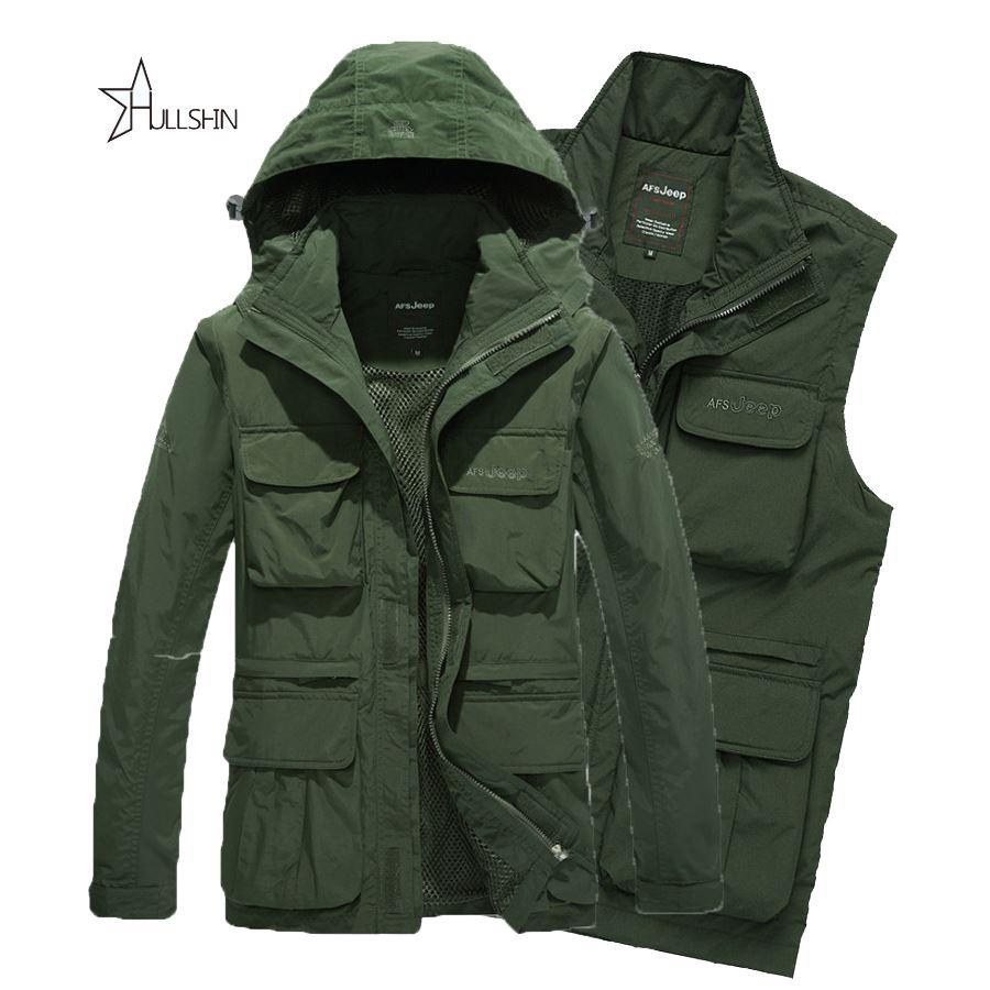 Winter Outdoor Jackets Army AFS JEEP Jacket 2016 Men Military ...