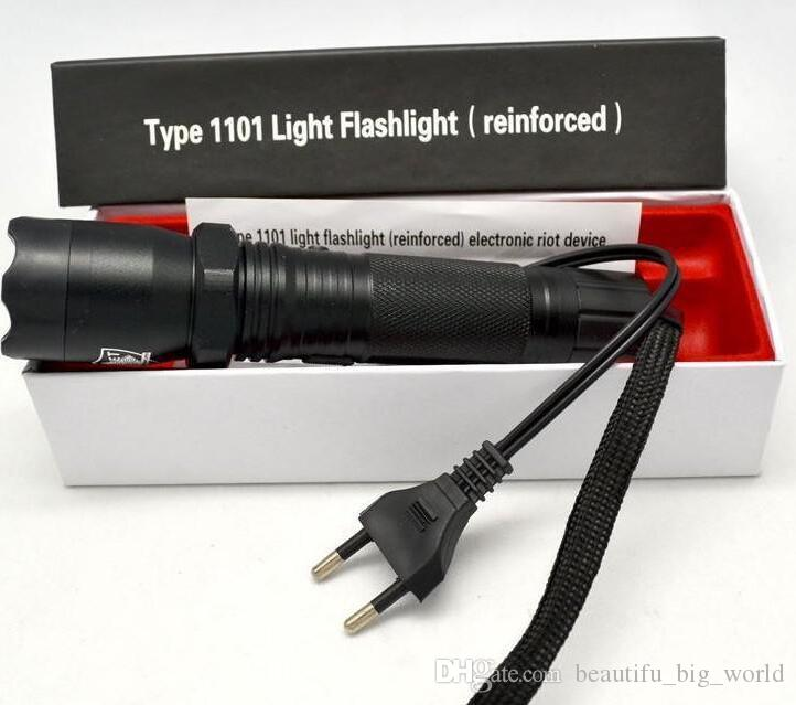 Top Vente Nouveau 1101 Type Edc Linternas Light Cree Led Tactical Lampe de poche