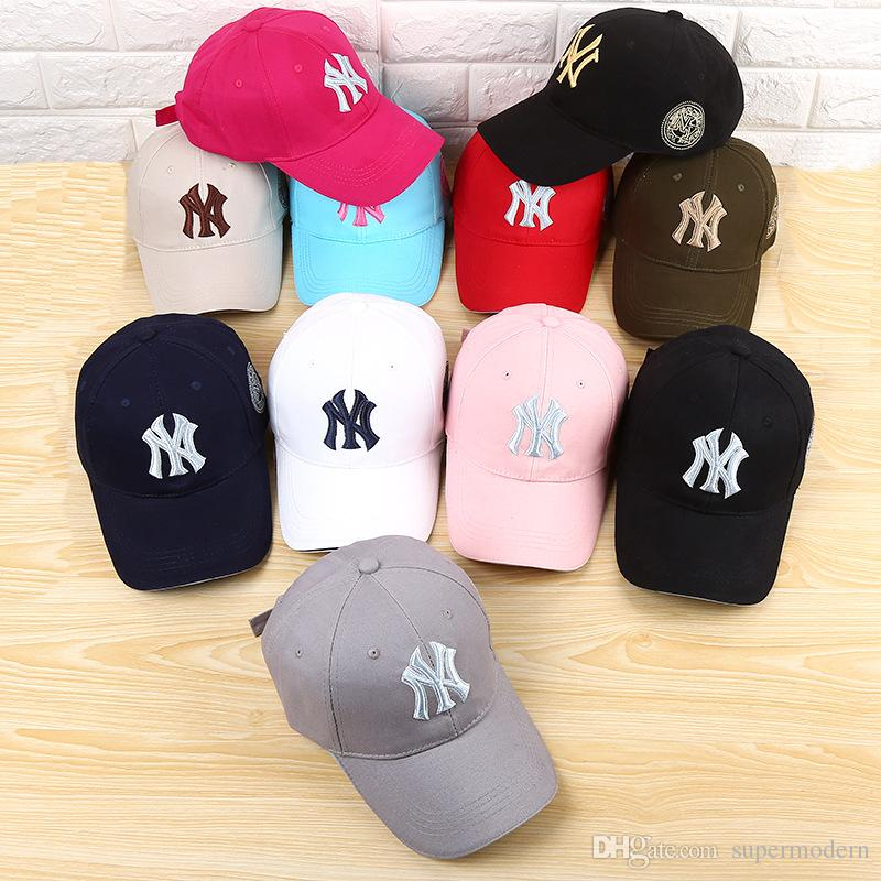 12 couleurs Yankees Hip Hop MLB Sports Snapback basket-ball NY Chapeaux Hommes F
