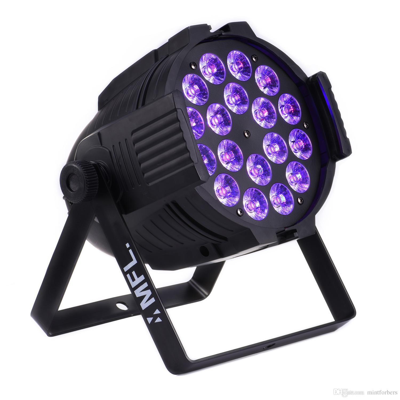Par 64 Led Par Light 10w4in1 Rgbw Quad Color 4 8ch Dj Bar Lighting Stage Lighting Standard