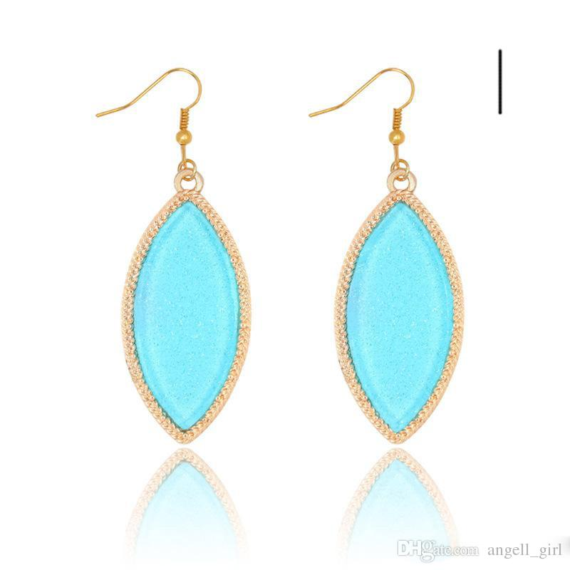 2017 wholesale price kendra scott style natural gem stone
