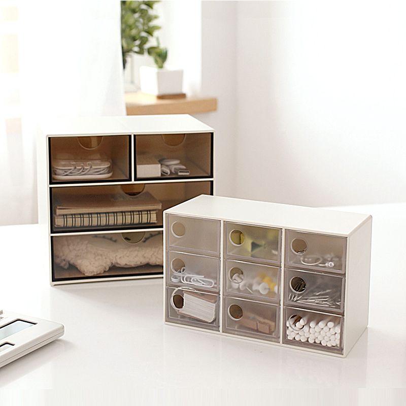 Jewelry Storage Drawers Japanese Style Simpel Desktop Storage Box, Creative  Plastic Office Stuff Drawer Storage Box Jewelry Storage Drawers Desktop  Storage ...