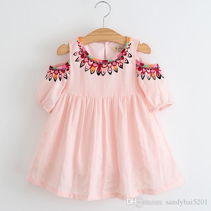 Online Cheap Baby Girls Summer Dress 2017 Spring Kids ...