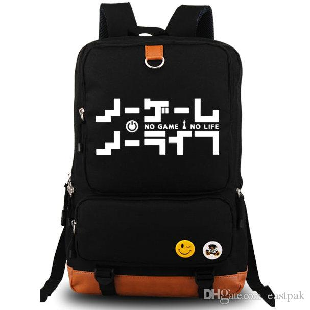 No Game No Life Backpack Lovely Day Pack Cool School Bag ...
