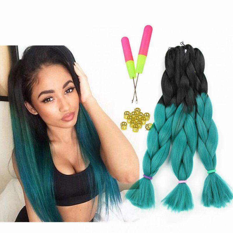 biba fiber hair kanekalon jumbo braids amazoncom kanekalon