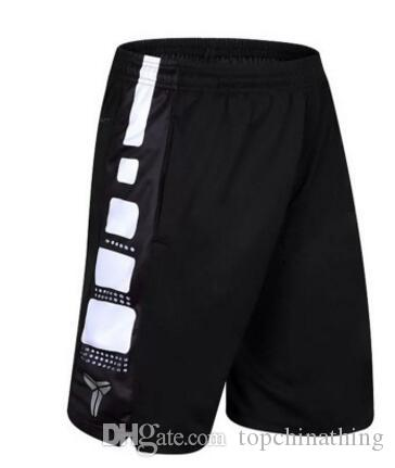 2017 New Hot Kobe Basketball Shorts Jerseys de sport Mens Training Short Trouser