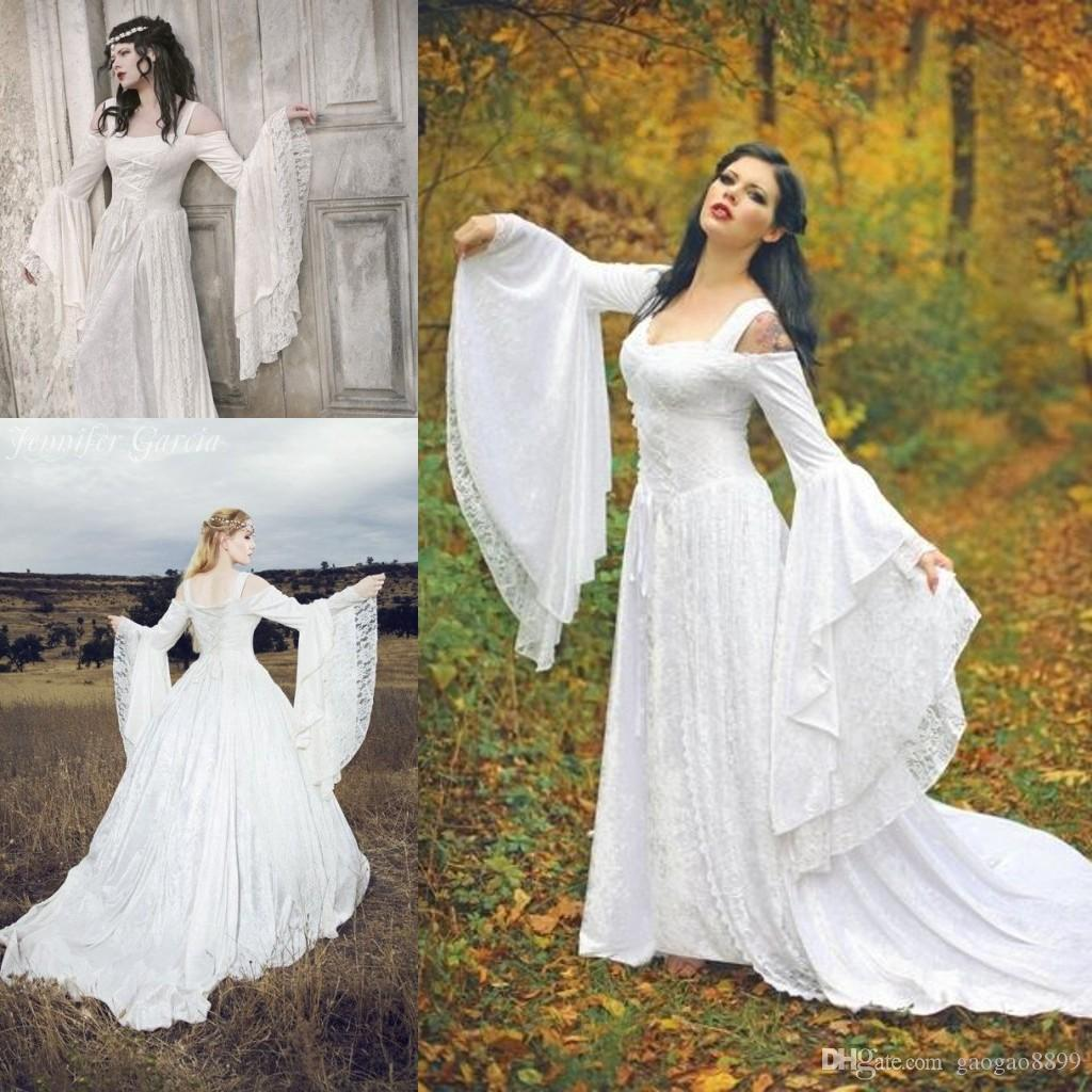 Discount Game Of Thrones Vintage Medieval Wedding Dresses 2017 ...