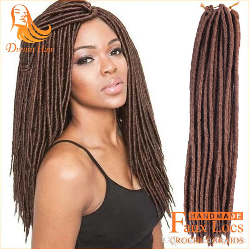 2017 18 Goddess Faux Locs Crochet Braids Synthetic Hair For Braids ...