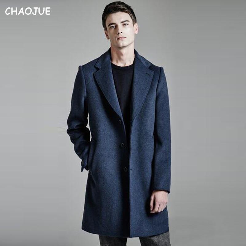 Europe Brand 70% Wool Coat For Mens 2016 Winter New Woolen ...