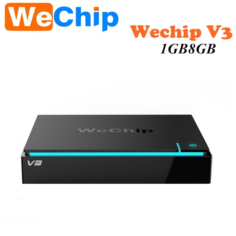 Original WeChip V3 Android 5.1 TV BOX RK3229 Fréquence octa-core: 2.0G 1 Go / 8