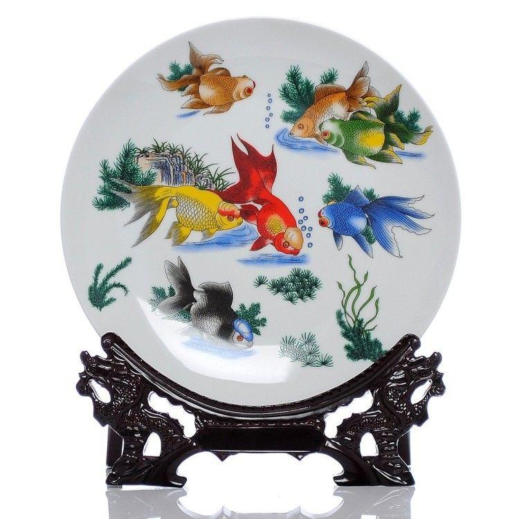 2017 Jingdezhen New Ceramic Decorate Plate Jingdezhen
