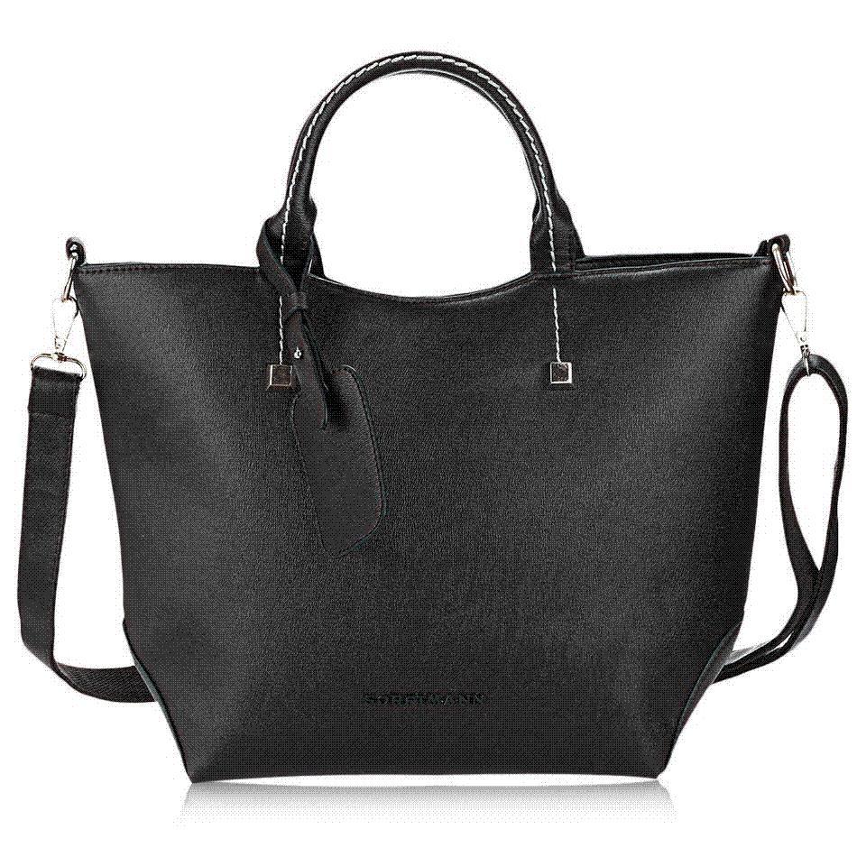 Sexy Red Large Pu Leather Women'S Handbag Brands Elegant Ladies ...