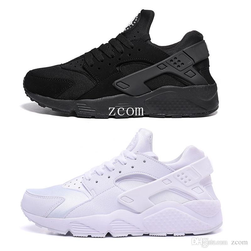 Womens Nike Air Huarache Run Running Shoes White