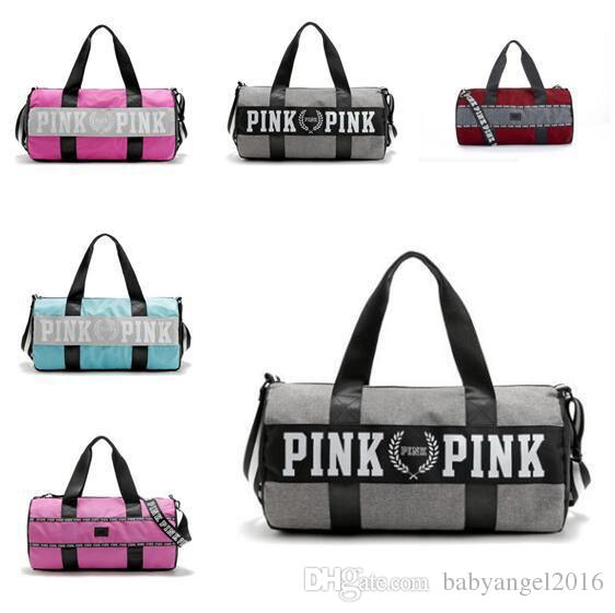 Love Pink Travel Bag Secret Storage Bag Organizer Waterproof ...