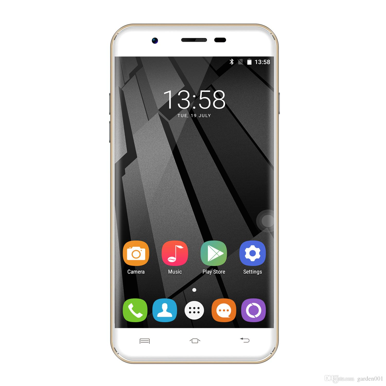 Original Oukitel U7 Plus 4G 5.5 pouces Android 6.0 MT6737M Quad Core HD 2 Go + 1