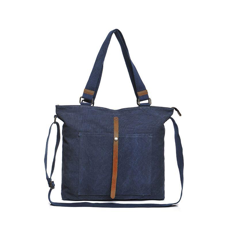 Canvas Bags Messenger Handbag Men Aslant Package Men'S Single ...