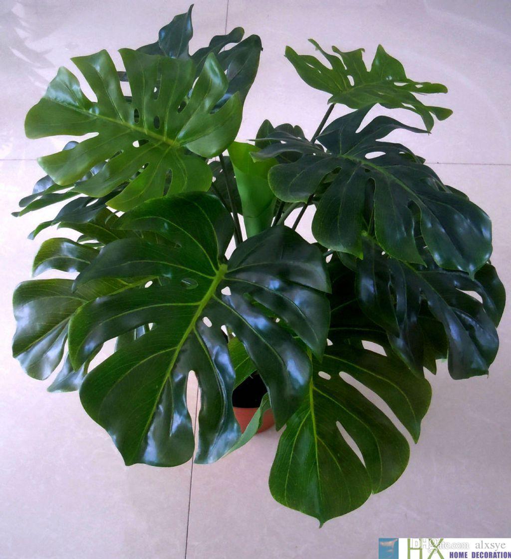 13 Leaves/pcsTurtle Leaves Plants, Artificial Tree,Artificial ...