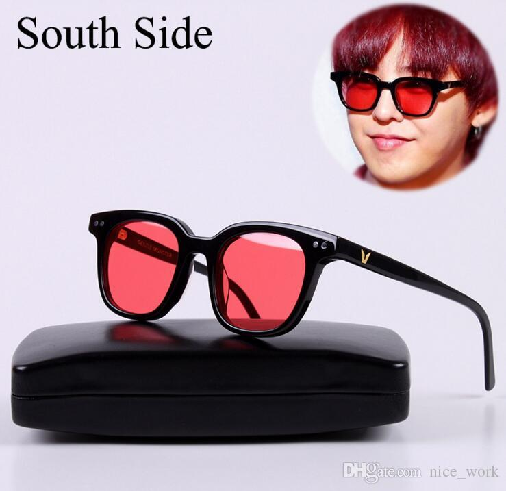 Hot Sale-2017 V brand Gentle Monster South Side Lunettes de soleil Vintage Femme