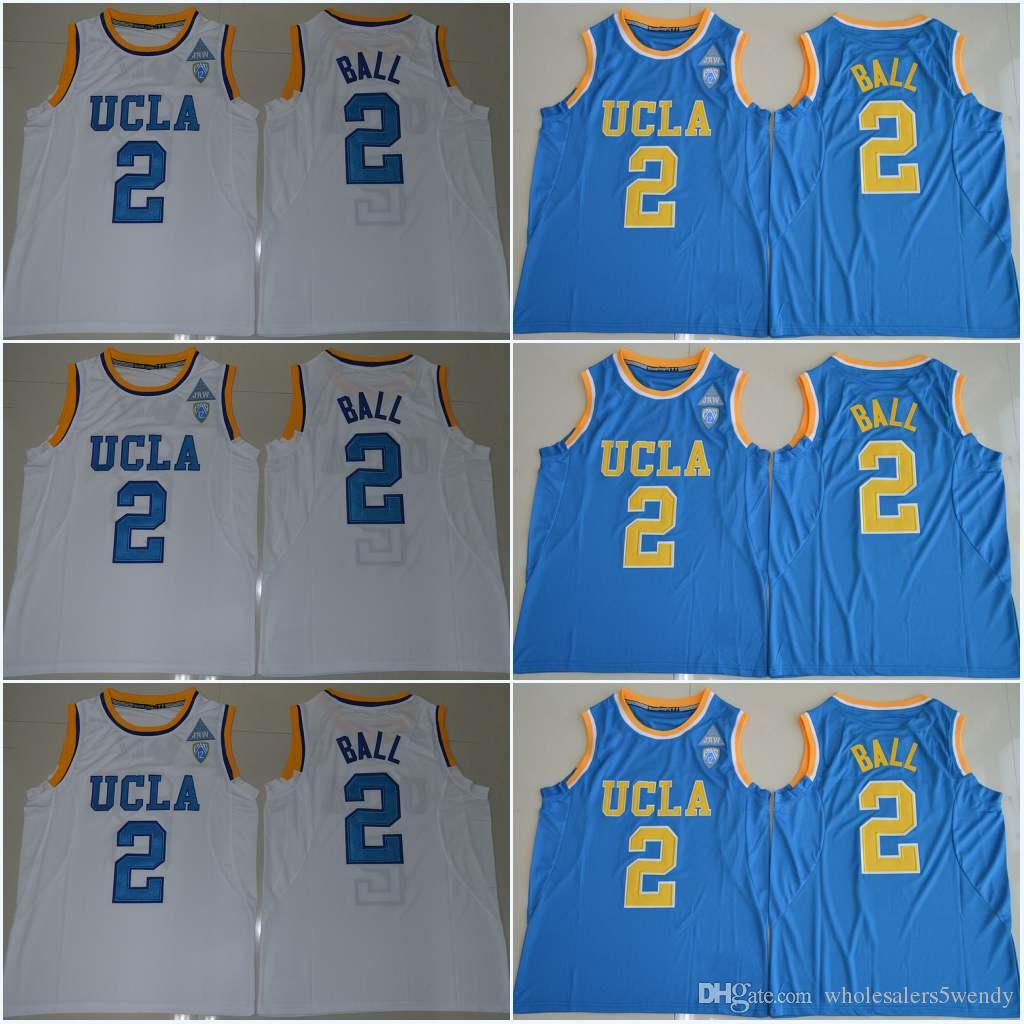 Youth Lonzo Ball 2 Enfants UCLA Bruins Russell Westbrook Zach LaVine 0 14 Bleu M