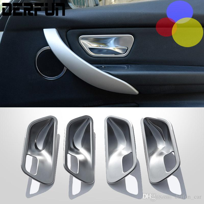 bmw door handle cover interior decoration accessories styling abs plating for 428i 316i 320. Black Bedroom Furniture Sets. Home Design Ideas