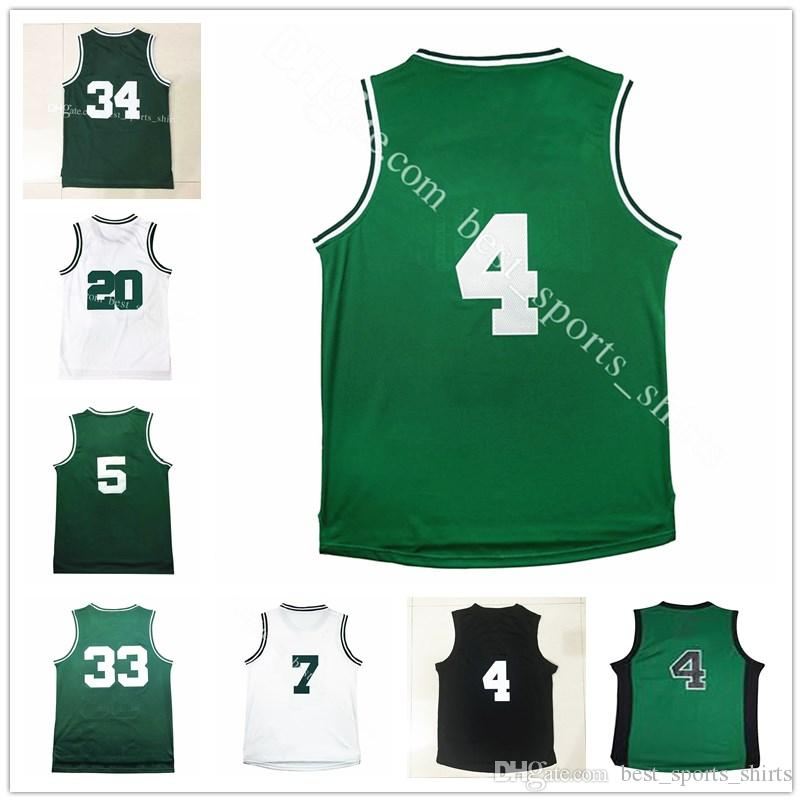 Maillots de basket-ball 100% cousus Isiah Thomas Paul Pierce Kevin Garnett Maill