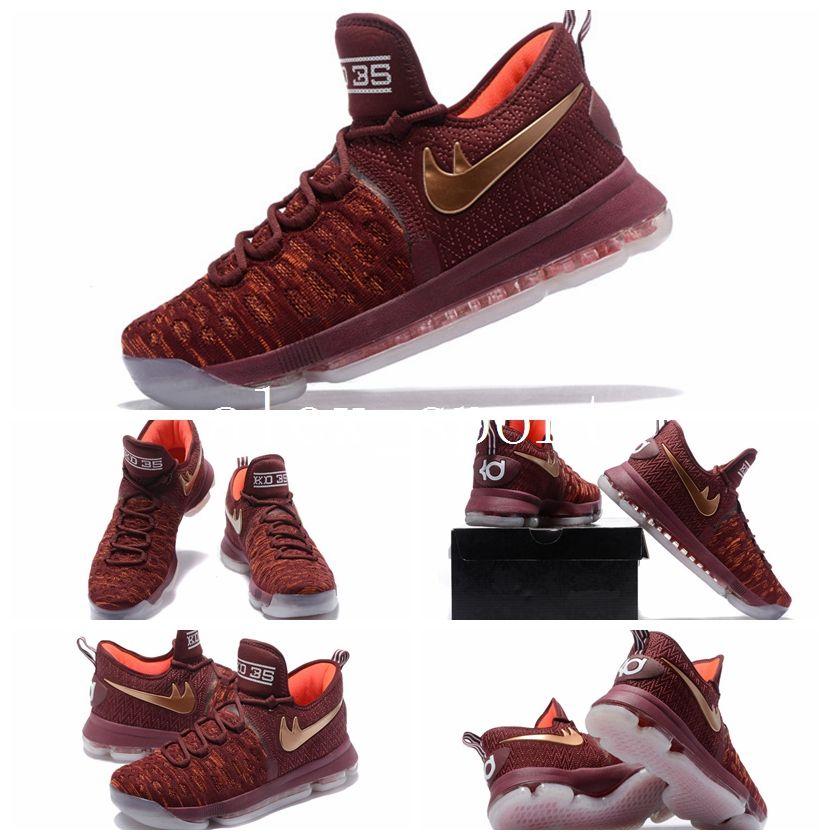 2017 Air Zoom Kd 9 Xmas Ep Basketball Shoes Kd 35 Kevin ...