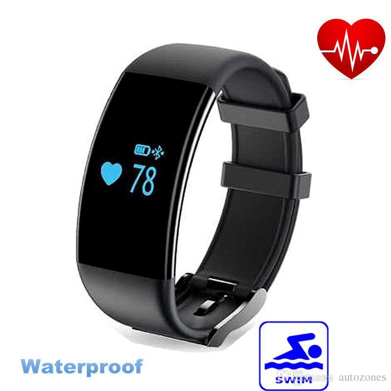Original! Dfit D21 Heart Rate Monitor Smartband Waterproof ...