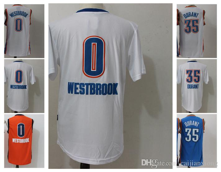 35 Kevin Durant 0 Russell Westbrook Maillot Jersey UCLA Bruins Russell Westbrook