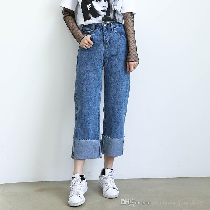 Summer Boyfriend Jeans for Women 2017 Hot Sale Womens Tapered High ...