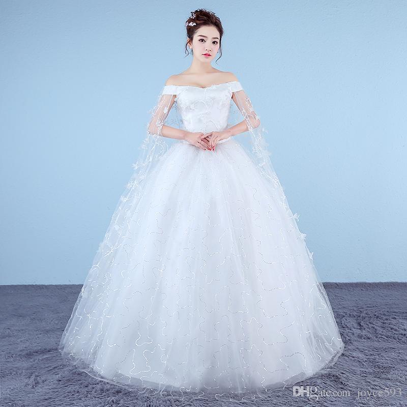 2017 New Red Wedding Dress Princess Bride Dress Plus Size