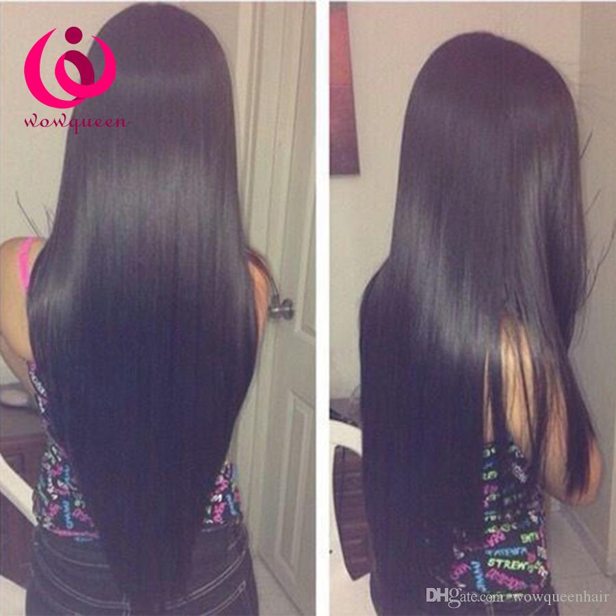 Cheap human hair weave sew in extension wholesale brazilian cheap human hair weave sew in extension wholesale brazilian straight hair wow queen peruvian virgin hair soft and thick bundles on sale brazilian straight pmusecretfo Images