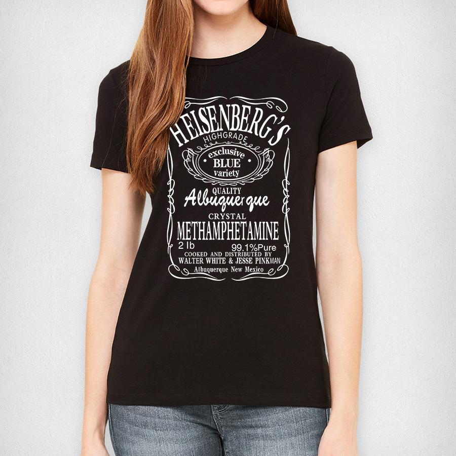 Wholesale personalized cotton women heisenberg t shirt o for Wholesale personalized t shirts