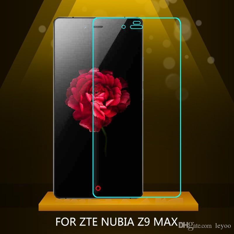 Pour ZTE Z9 Max Tempered Glass 100% Nouveau Film de protection 9H antidéflagrant