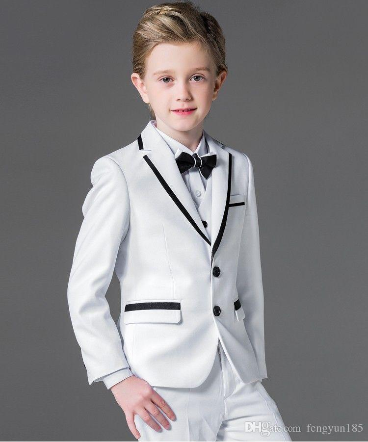 Create a smart look with our range of boys' formalwear. Put together a three-piece suit with a matching jacket, tailored trousers and a waistcoat: a pair of slick leather shoes and a sharp Oxford shirt will complete the look.