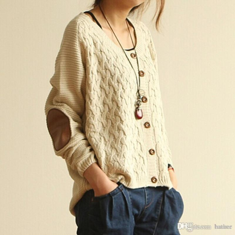 Wholesale-Winter Cardigan Sweater Vintage Jumper Christmas Sweater ...